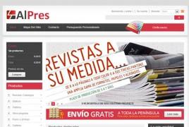 Imprenta online - Alpres