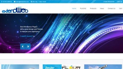 Tienda online de plugins - ExtendYourWeb