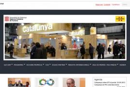 Página web de l'Agència Catalana de Turisme
