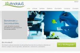 Página web de BiaAndaluS - Abengoa