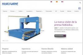 Página web de Hidrogarne