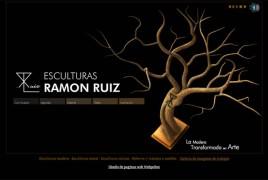 Página web del escultor Ramón Ruiz