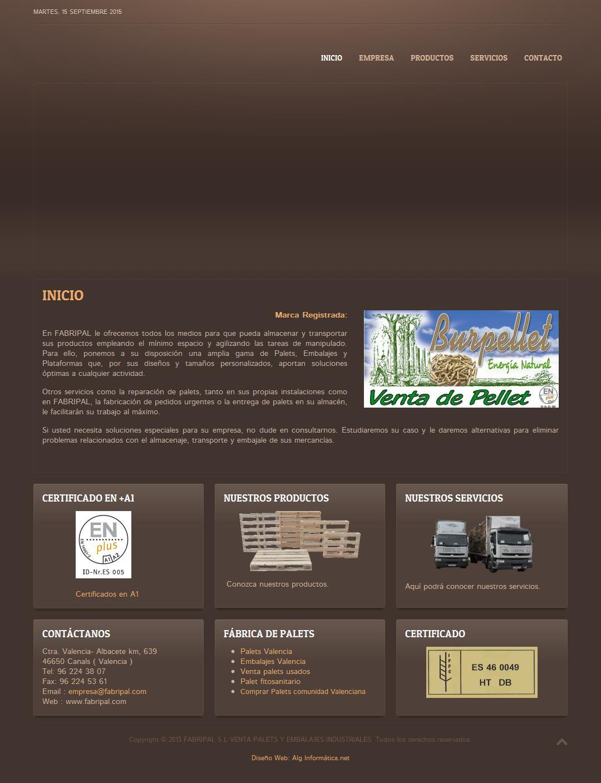 Fabripal - Empresa De Palets En Valencia
