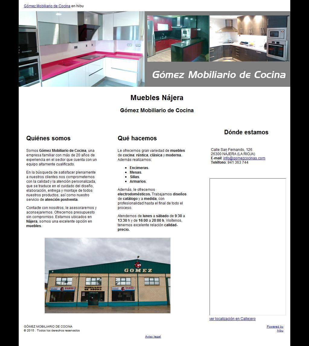 Gomez Mobiliario De Cocina